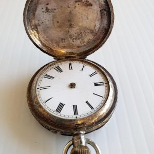 0935 Silver Pocket Watch - Maitland Antique Shop - Rustic Antiques