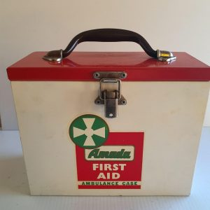 Amada First Aid Tin - Maitland Antique Shop - Rustic Antiques