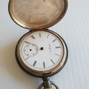 Elgin 1800's Pocket Watch - Maitland Antique Shop - Rustic Antiques